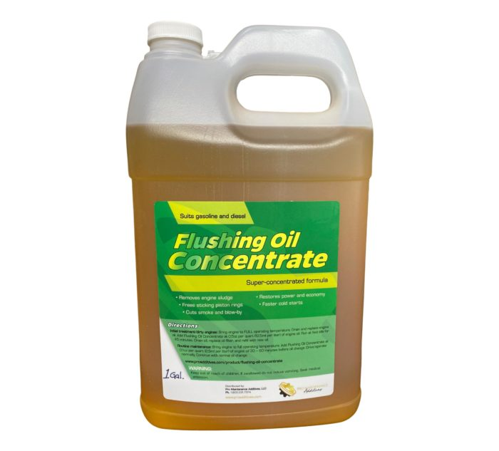 1 gal Flushing Oil Concentrate F-style