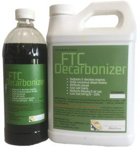FTC Decarbonizer fuel catalyst deglaze cylinders clean turbocharger reduce exhaust smoke