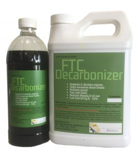 FTC Decarbonizer available in different sizes and bottle choices depending on need
