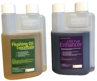 Flushing Oil Concentrate & CRD Fuel Enhancer Value Pack 1