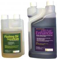 Flushing Oil Concentrate & CRD Fuel Enhancer Value Pack 2