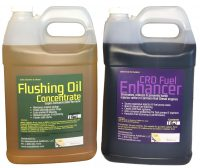 Flushing Oil Concentrate & CRD Fuel Enhancer Value Pack 4