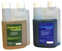 Flushing Oil Concentrate and Cleanpower value Pack 1