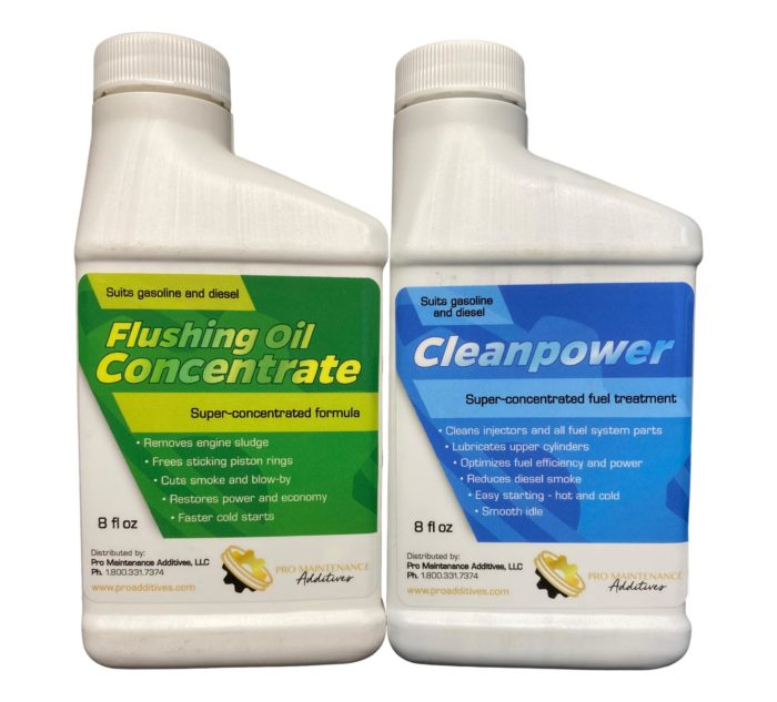 Flushing Oil Concentrate & Cleanpower Value Pack 1 Option 2