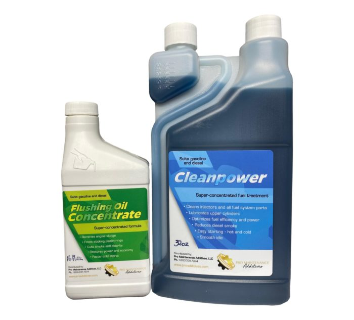 Flushing Oil Concentrate & Cleanpower Value Pack 2 Option 4
