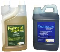 Flushing Oil Concentrate and Cleanpower value Pack 3