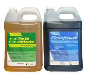 Flushing Oil Concentrate & Cleanpower Value Pack 4