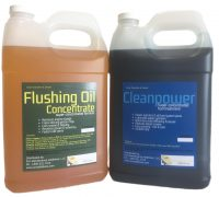 Flushing Oil Concentrate and Cleanpower value Pack 4