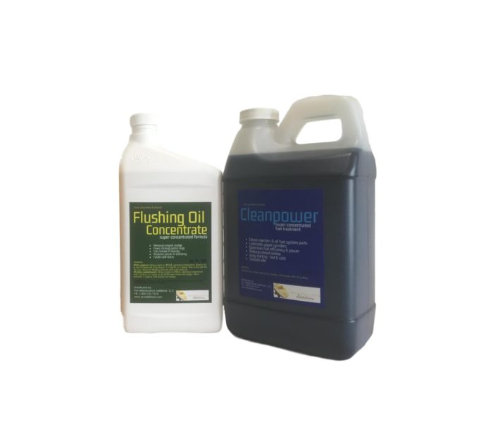 Medium Flushing Oil Concentrate & Cleanpower Option 2