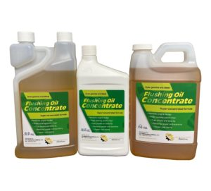 Flushing Oil Concentrate Lineup