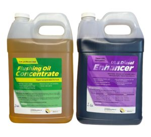 Flushing Oil Concentrate & ULS Diesel Enhancer Value Pack 4