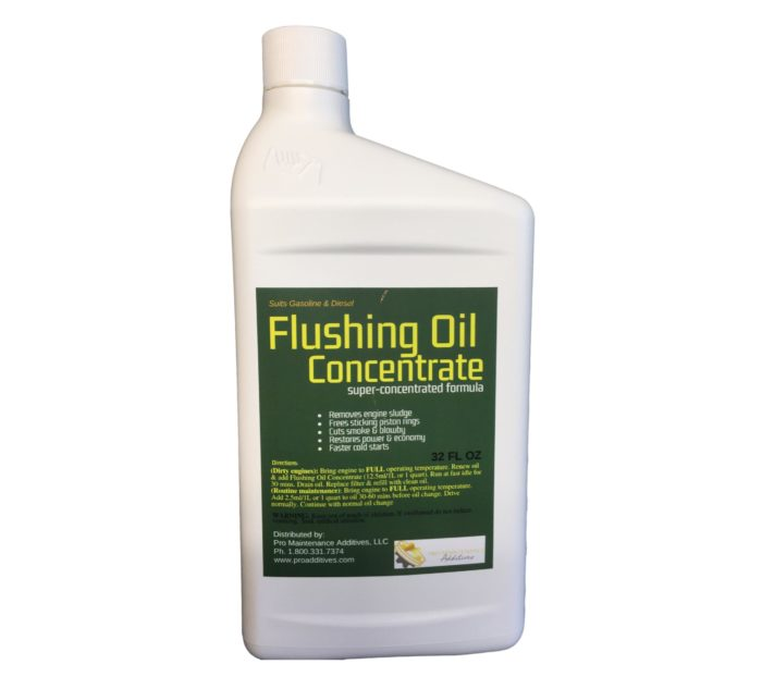 32oz Flushing Oil Concentrate Single