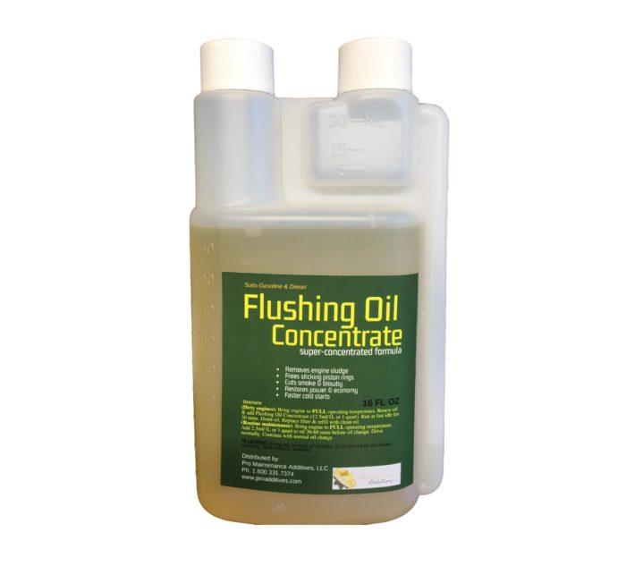 16oz Flushing Oil Concentrate Twin