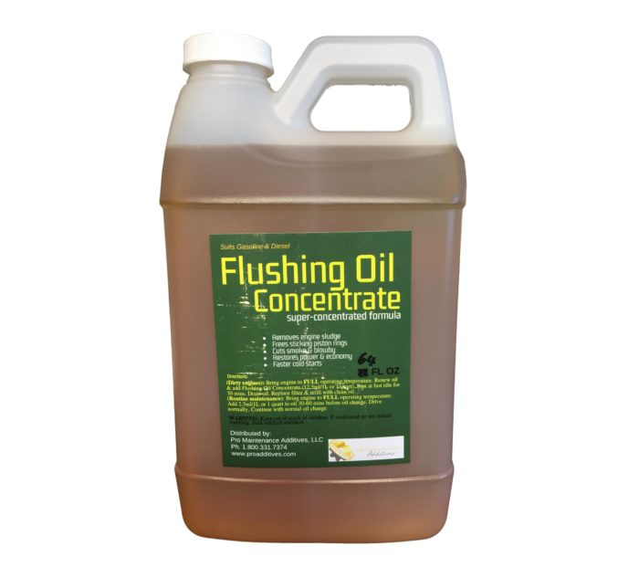 64oz Flushing Oil Concentrate