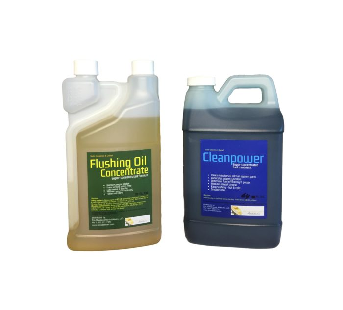 Medium Flushing Oil Concentrate & Cleanpower Option 1