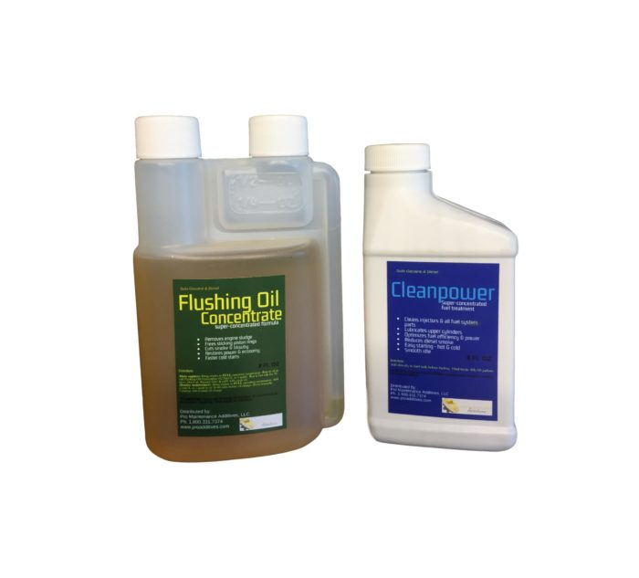 Mini Flushing Oil Concentrate & Cleanpower Option 3
