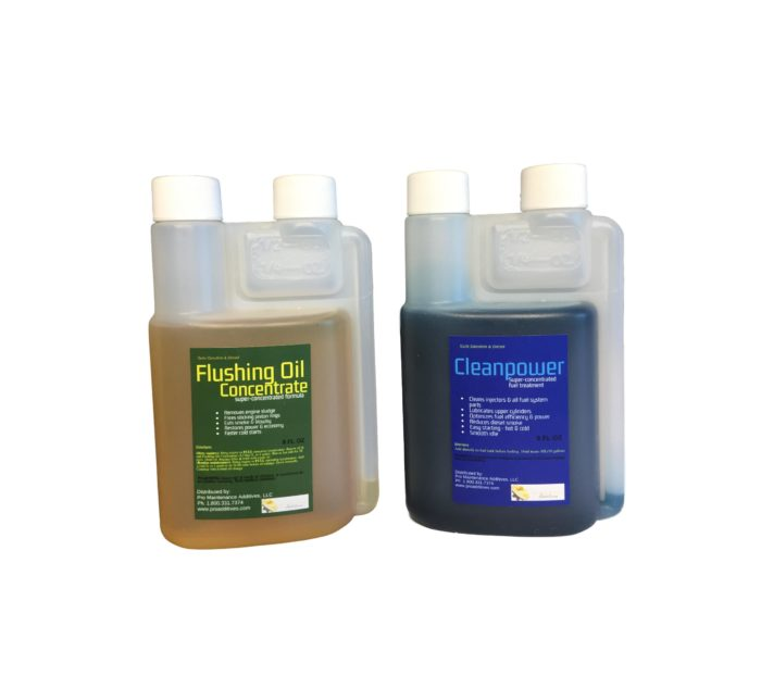 Mini Flushing Oil Concentrate & Cleanpower Option 1