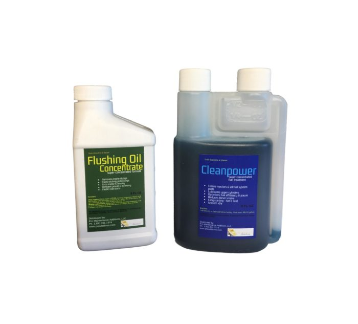 Mini Flushing Oil Concentrate & Cleanpower Option 4