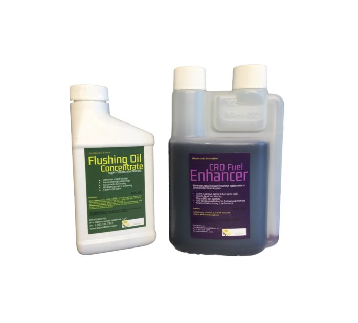 Mini Flushing Oil Concentrate & CRD Fuel Enhancer Option 4