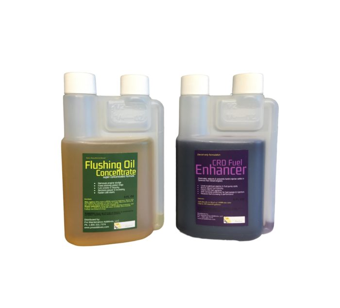 Mini Flushing Oil Concentrate & CRD Fuel Enhancer Option 1