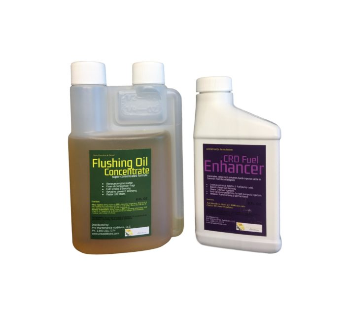 Mini Flushing Oil Concentrate & CRD Fuel Enhancer Option 3