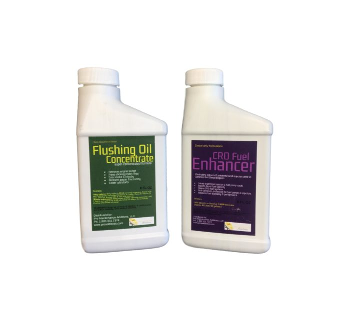 Mini Flushing Oil Concentrate & CRD Fuel Enhancer Option 2