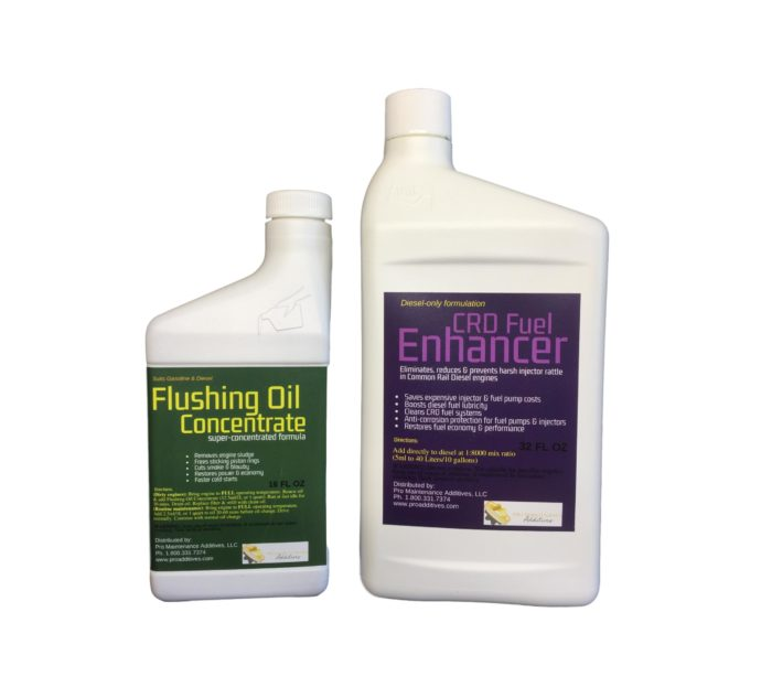 Small Flushing Oil Concentrate & CRD Fuel Enhancer Option 2