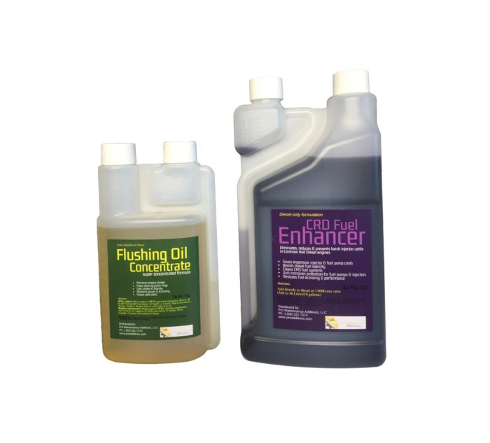 Small Flushing Oil Concentrate & CRD Fuel Enhancer Option 3