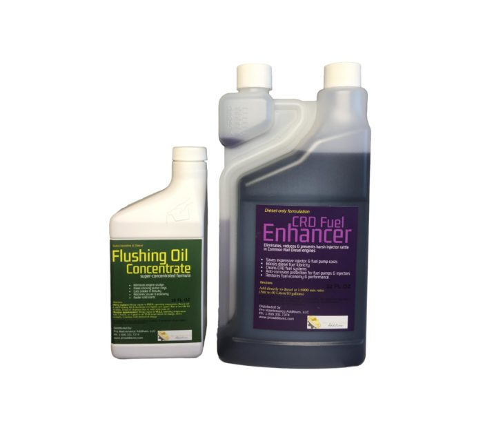 Small Flushing Oil Concentrate & CRD Fuel Enhancer Option 4