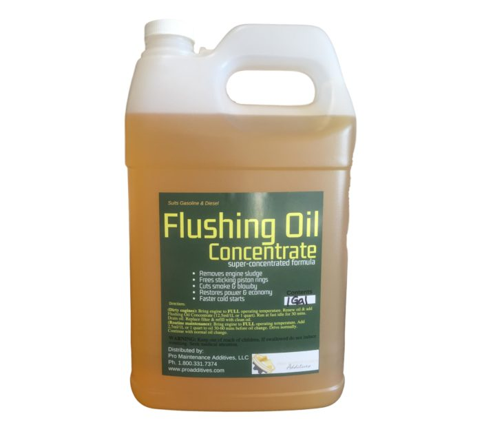 1 gal Flushing Oil Concentrate