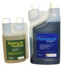 Flushing Oil Concentrate and Cleanpower value Pack 2