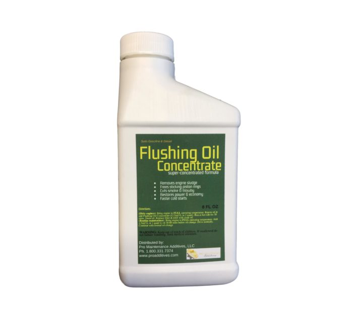 8oz Flushing Oil Concentrate Single